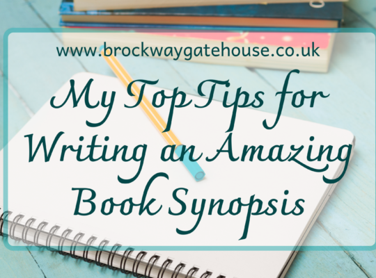 Post Featured Image - My Top Tips for Writing an Amazing Book Synopsis