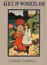 book cover for Alice's Adventures in Wonderland by Lewis Carroll